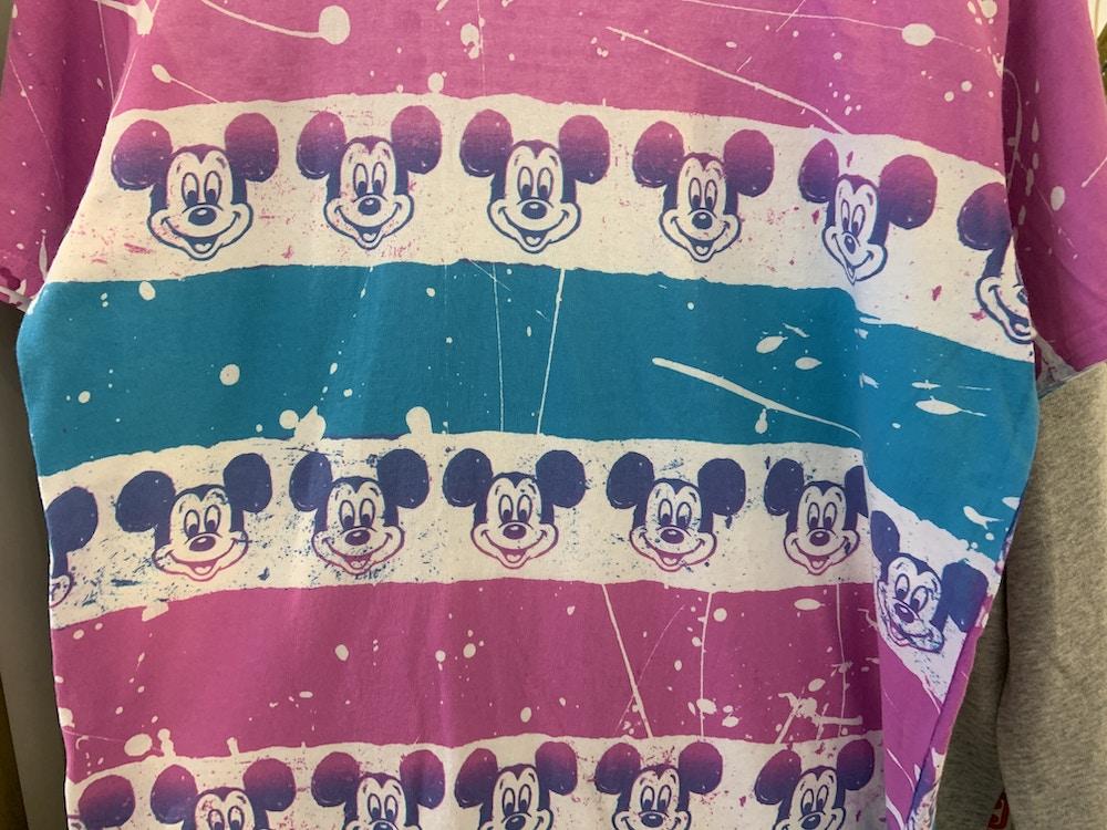 Pain splatter Mickey shirt 1/18/20 4