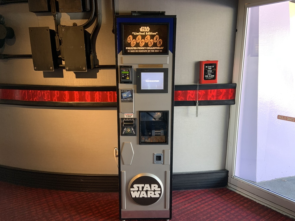 New penny machine Mission Space 1/8/20 1
