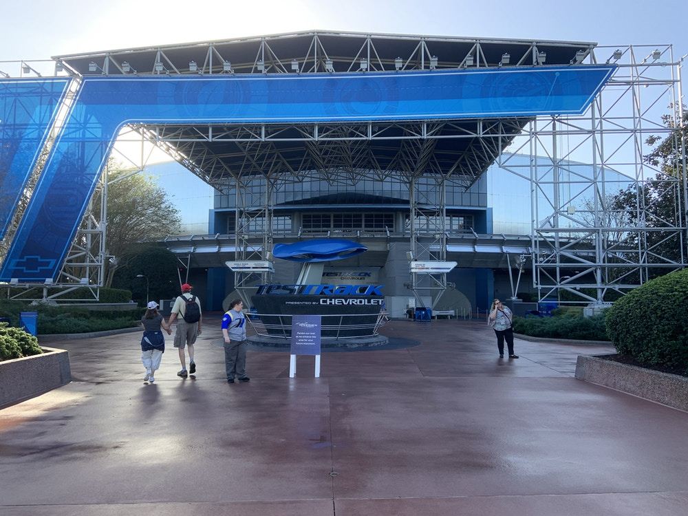 Test Track closed 1/13/20 1