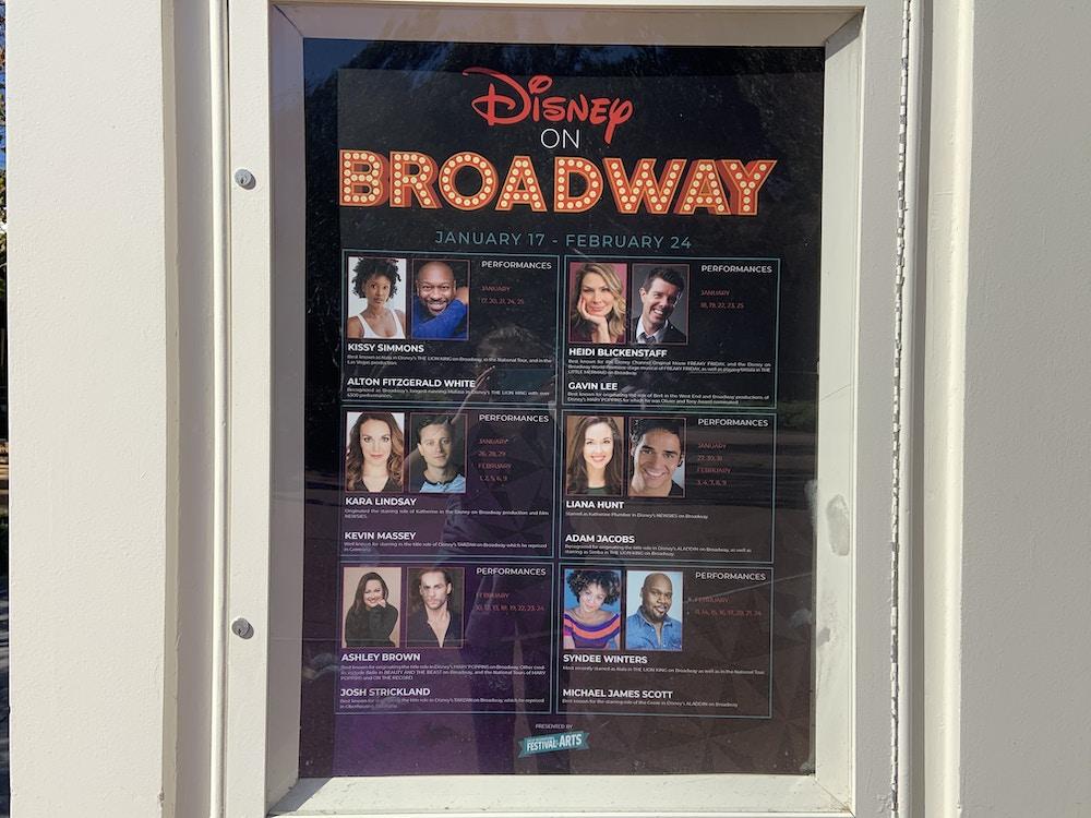 Disney on Broadway 1/8/20 2