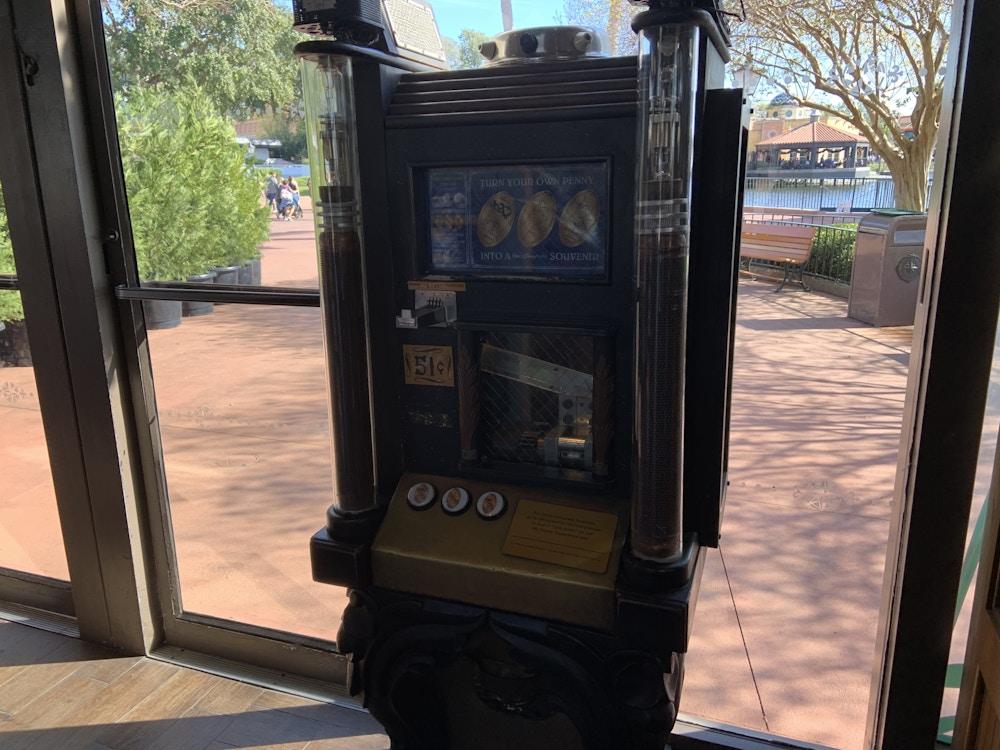 Pressed Penny machine 2020 1/2/20 1