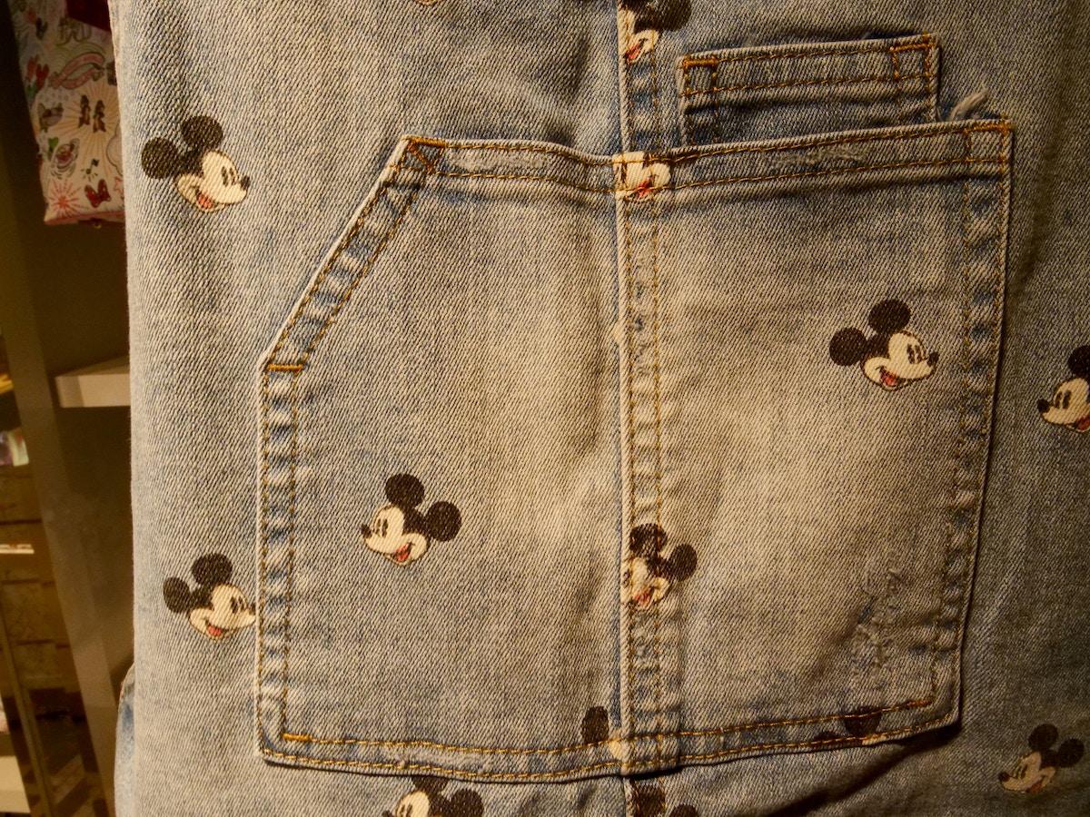 Denim Apparel Mickey Print at Hollywood Studios