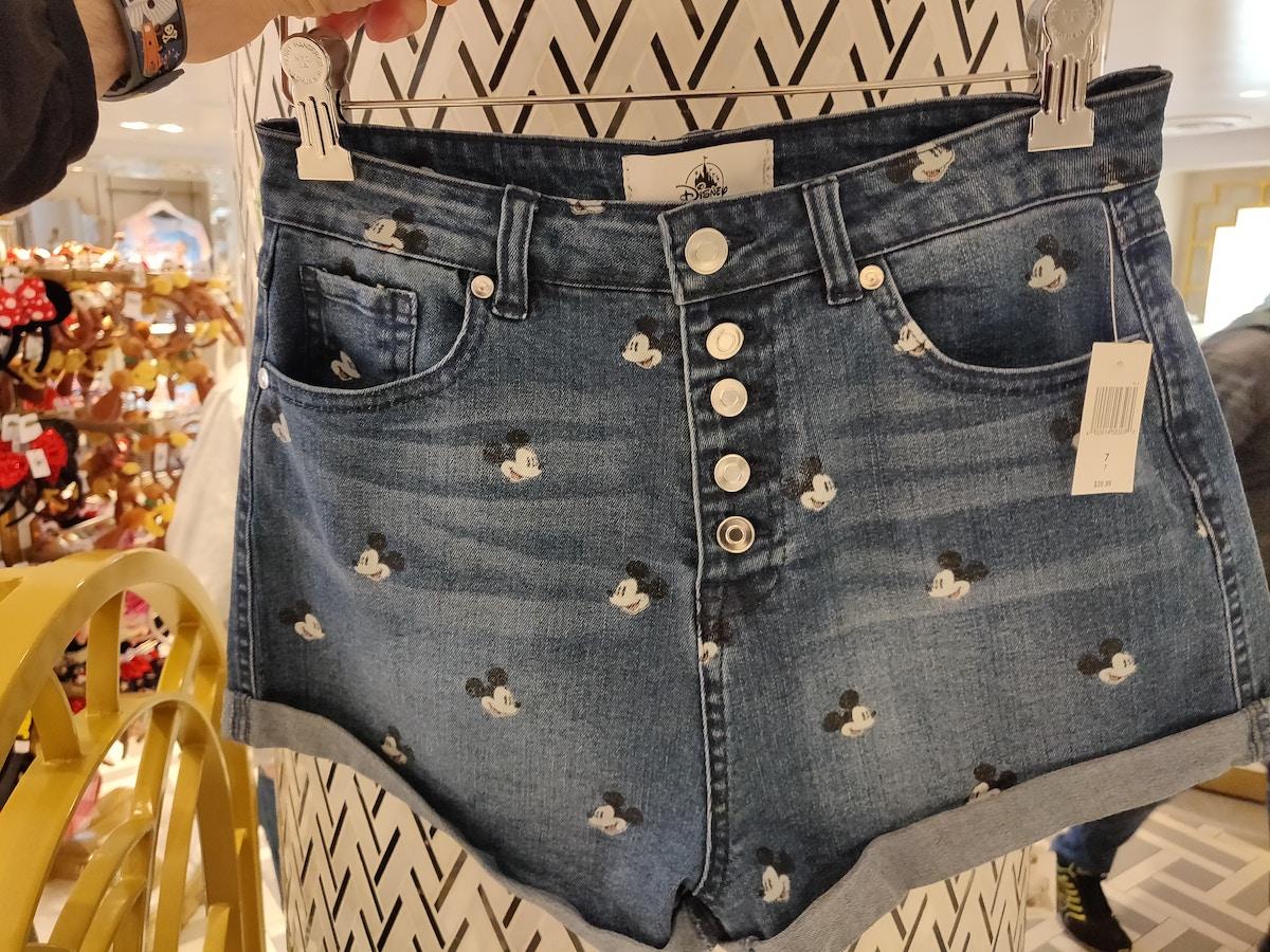 Denim Shorts at Hollywood Studios