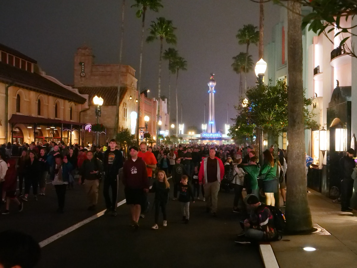 Disney's Hollywood Studios Opening Crowds
