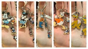Mickey and friends keychains 1/18/20 3