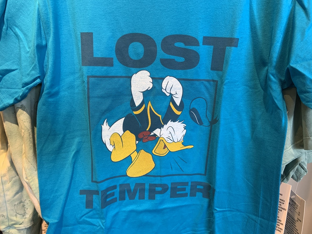 Lost Temper Donald tee 1/12/20 2