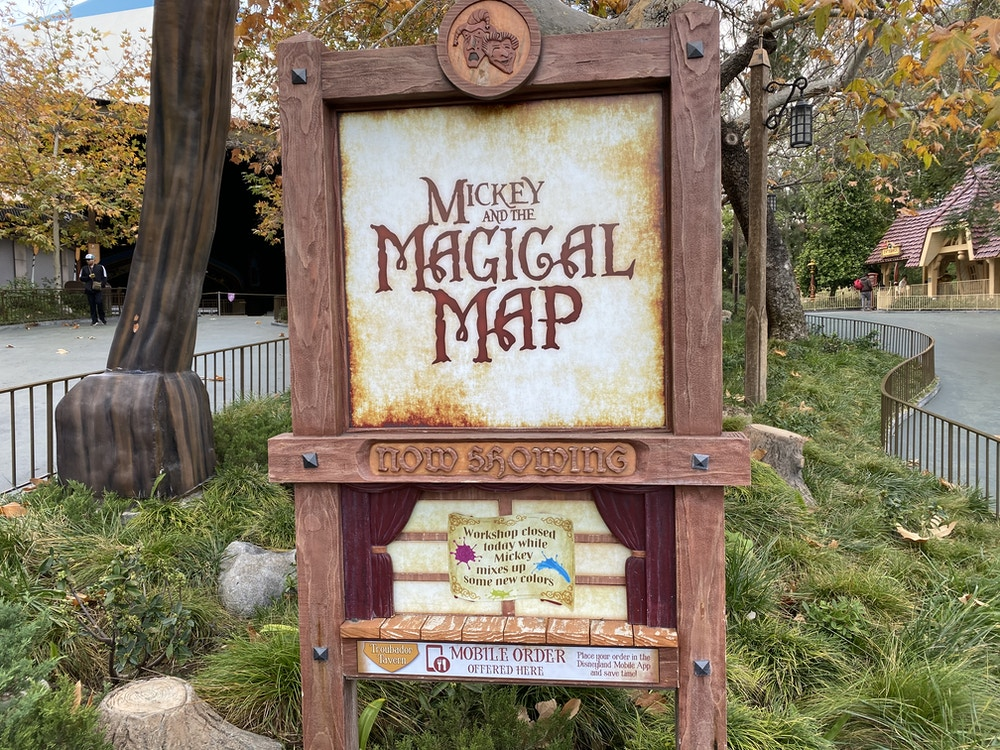 magical map