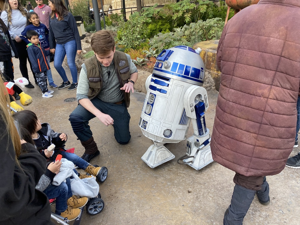roaming r2d2 droid