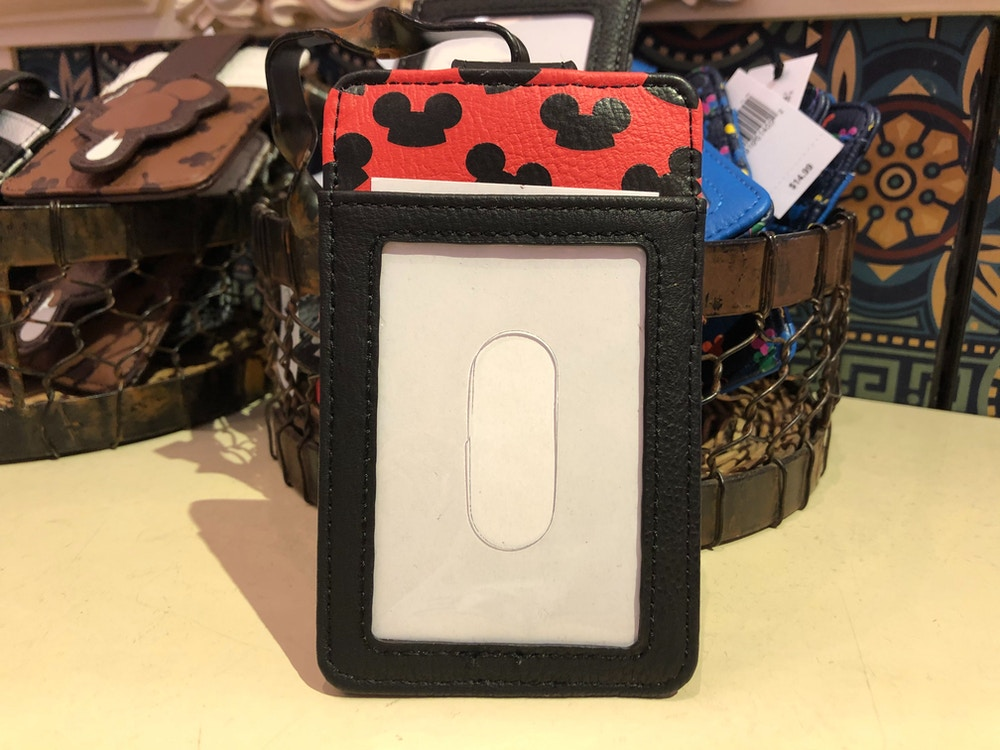 Mickey Ear Hat ID and Card Holder