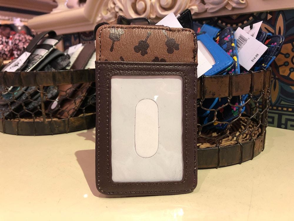 Mickey Ice Cream Bar ID and Card Holder