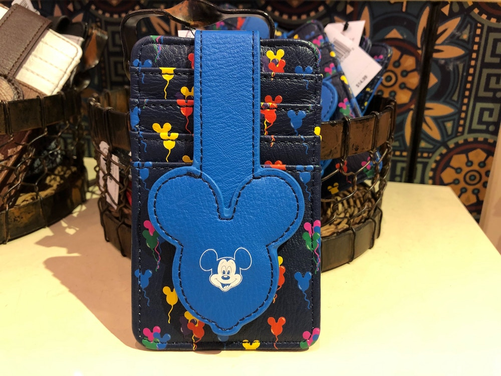 Mickey Balloon ID and Card Holder