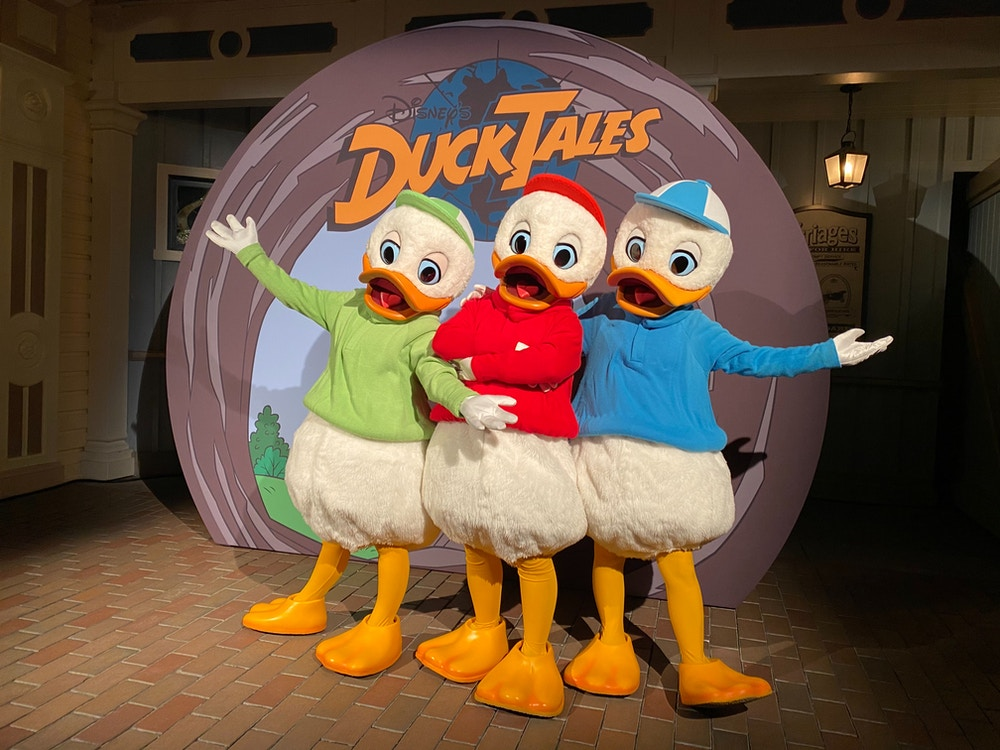DuckTales Disneyland After Dark: 80's Nite