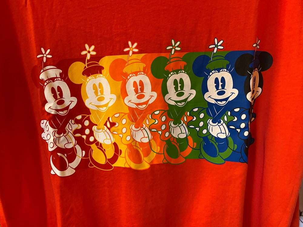 Disneyland Rainbow Minnie T-Shirt