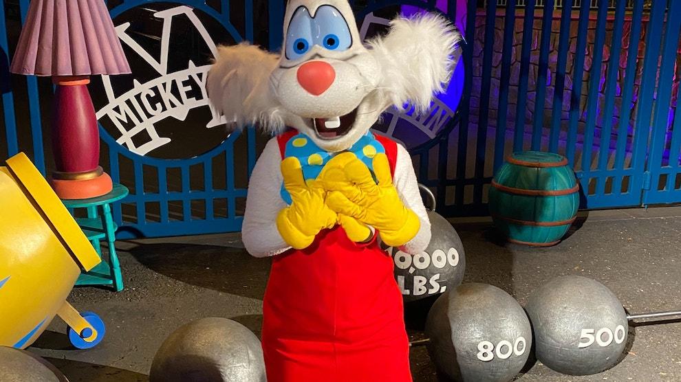 Roger Rabbit Disneyland After Dark: 80's Nite