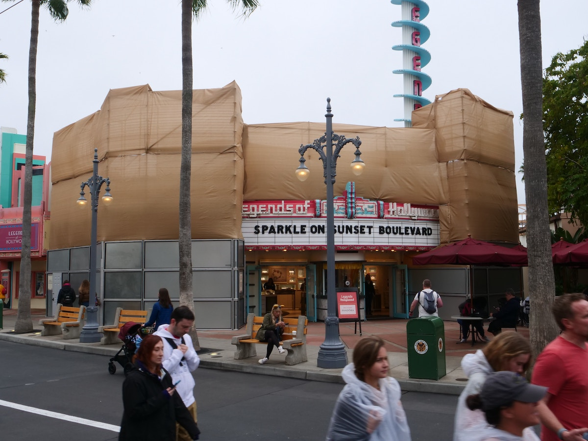 Legends of Hollywood Exterior Refurbishment