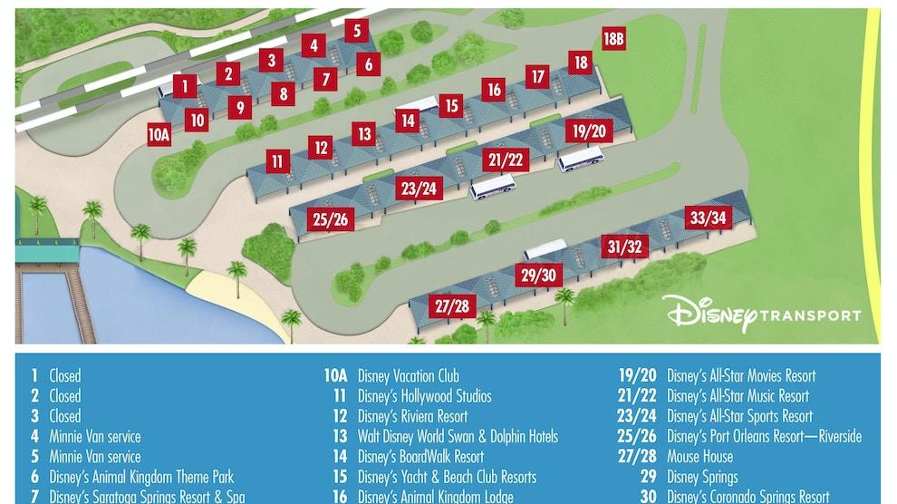 Magic Kingdom Bus Loop Load Zones Changing Starting January ...