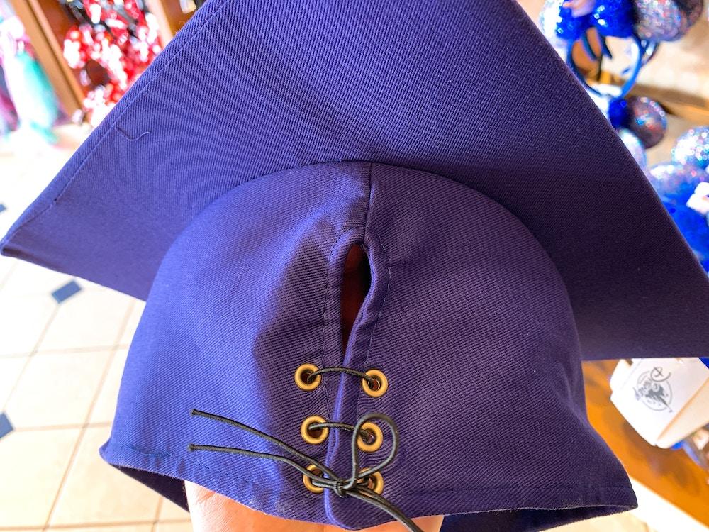 """Mickey Ear Graduation Cap """"Class of 2020"""" Back Cap Ties"""