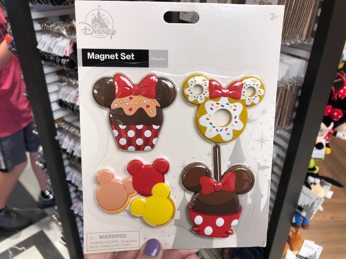 Minnie Mouse Dessert Themed Magnet Set