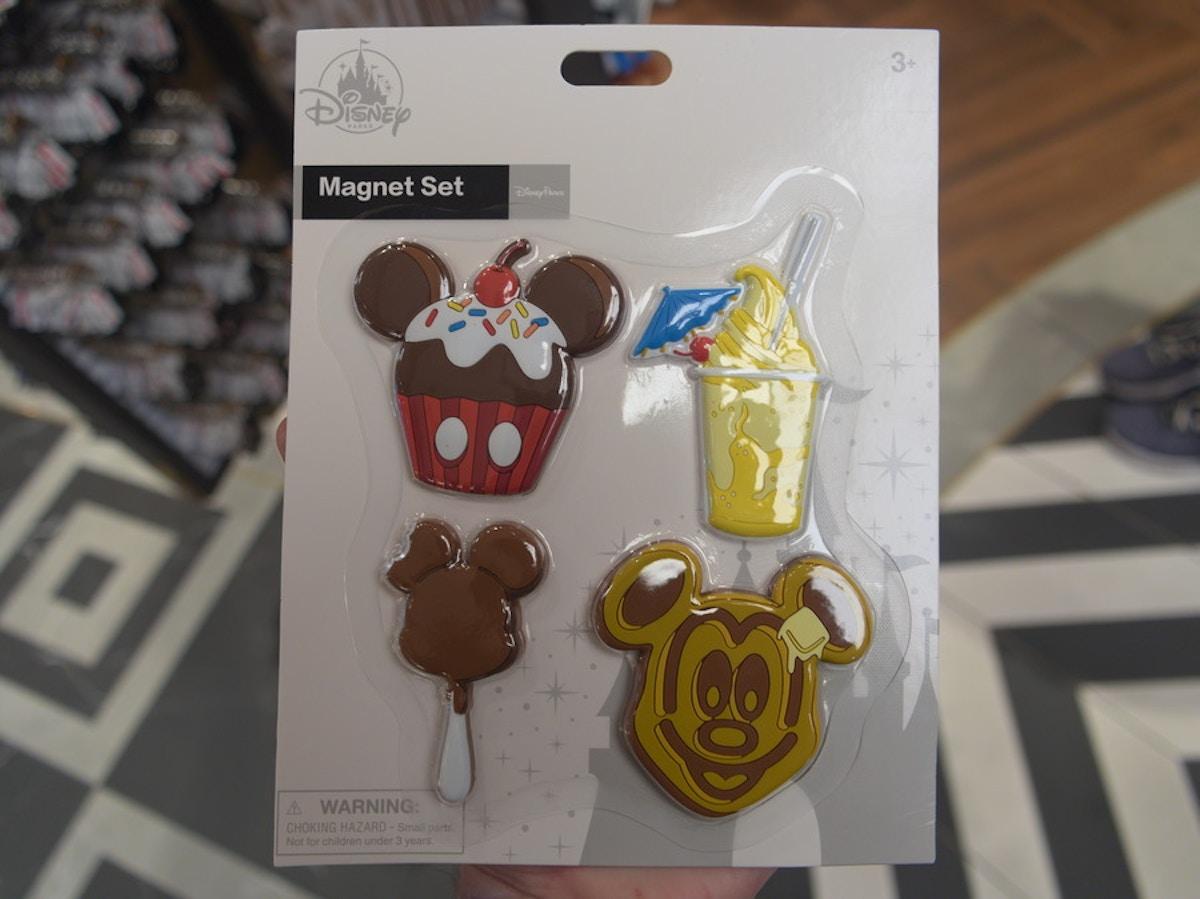 Disney Park Snacks Magnet Set