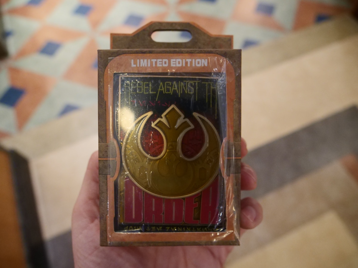 Star Wars Rise of the Resistance Pin