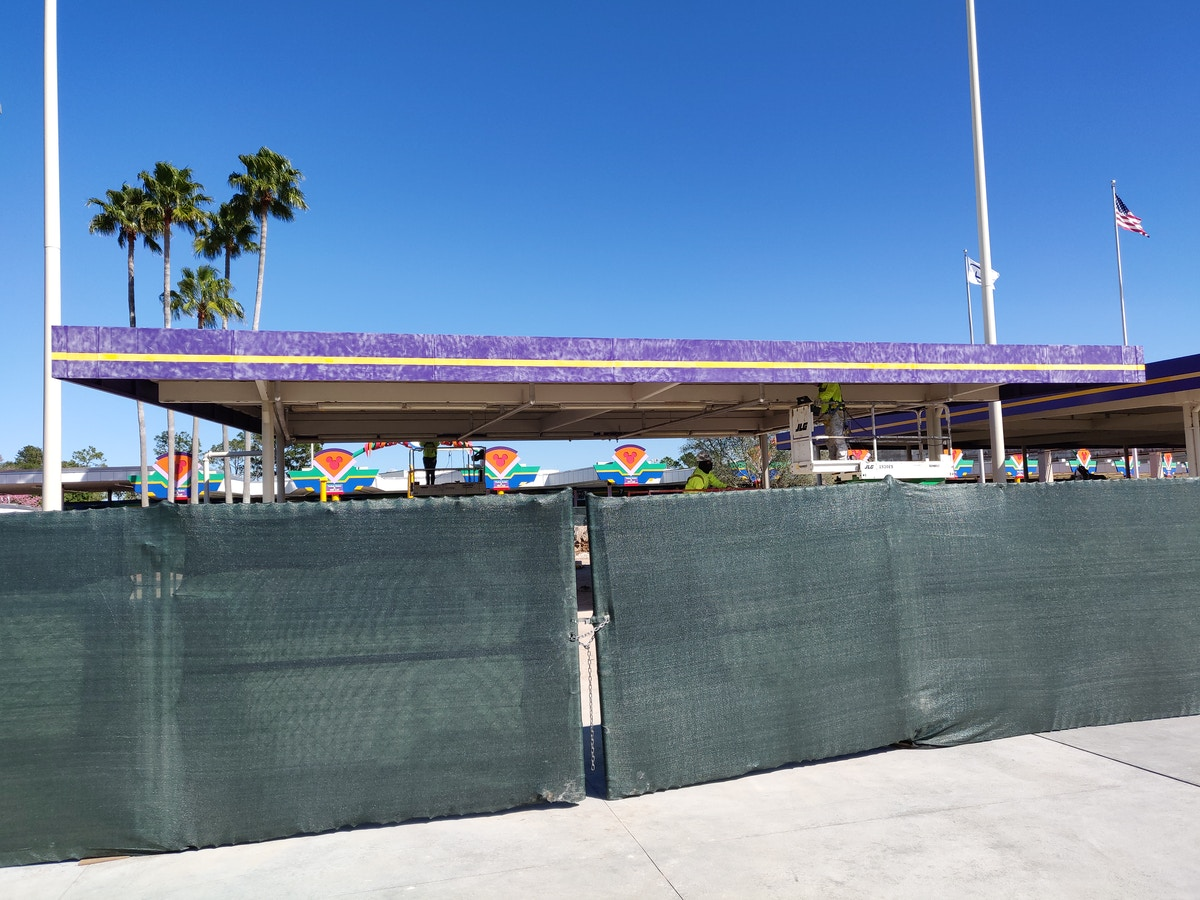 Transportation and Ticket Center Construction