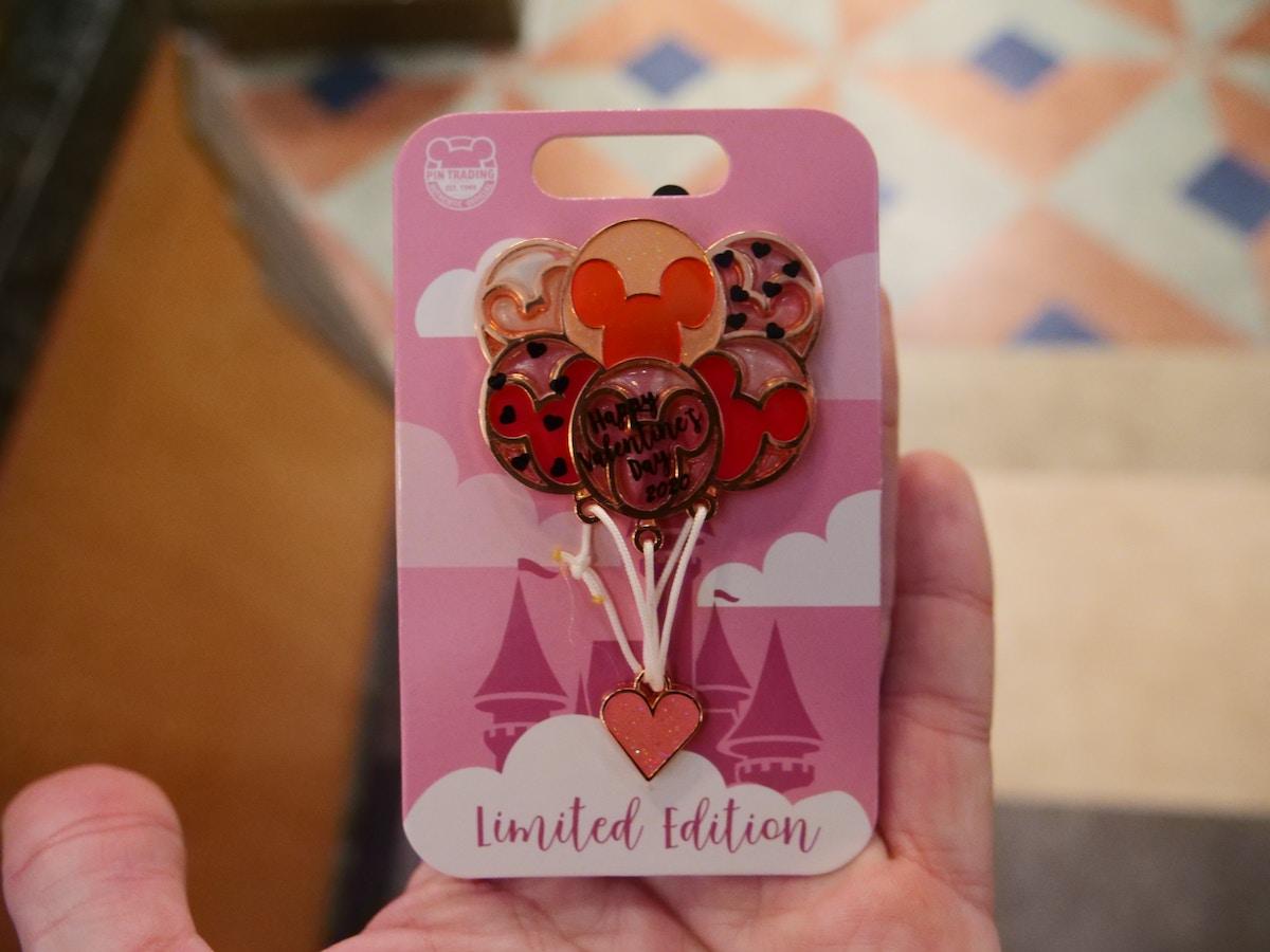 Valentine's Day Balloon Pin