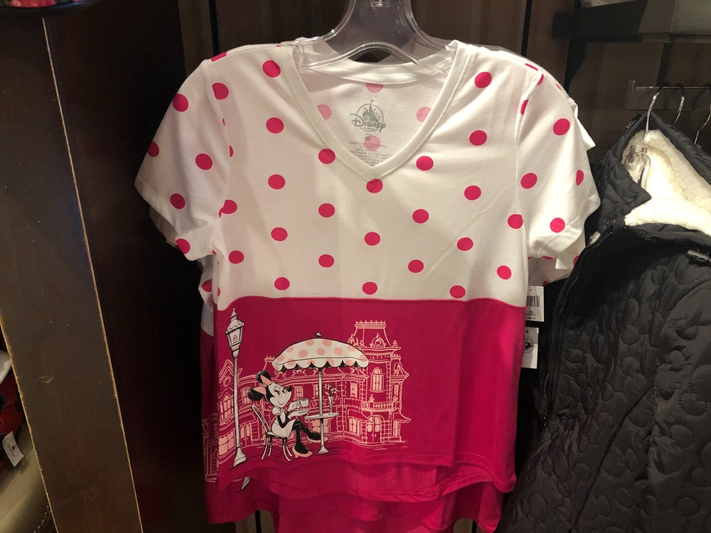 Rock The Dots Women's Main Street USA Minnie T-Shirt