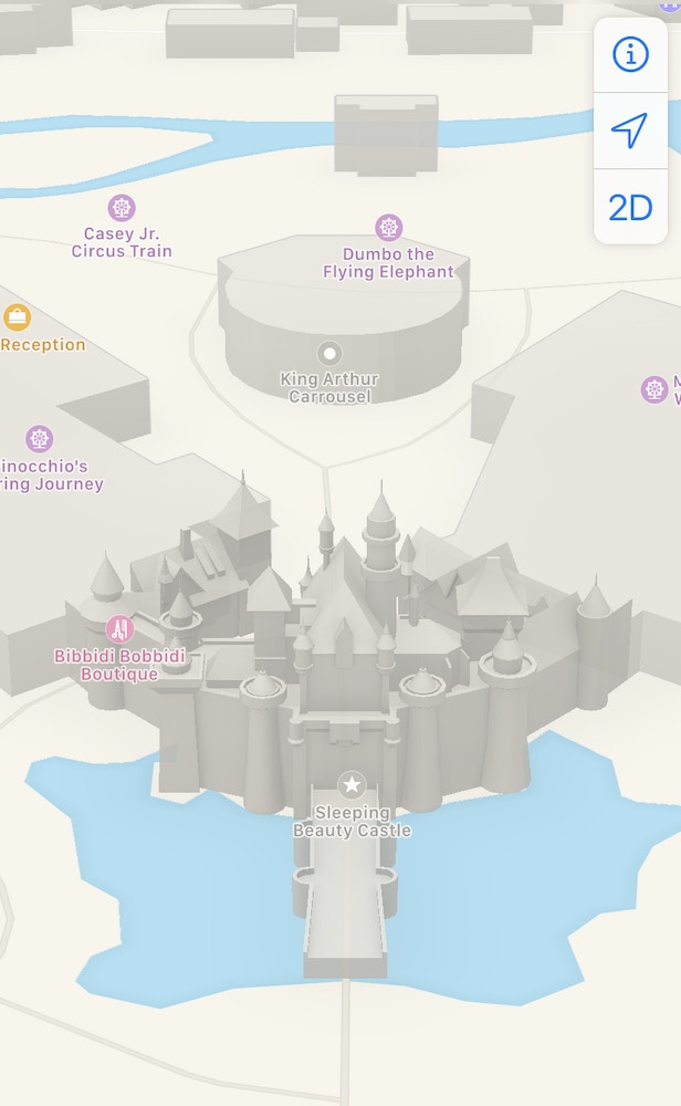 apple maps disneyland