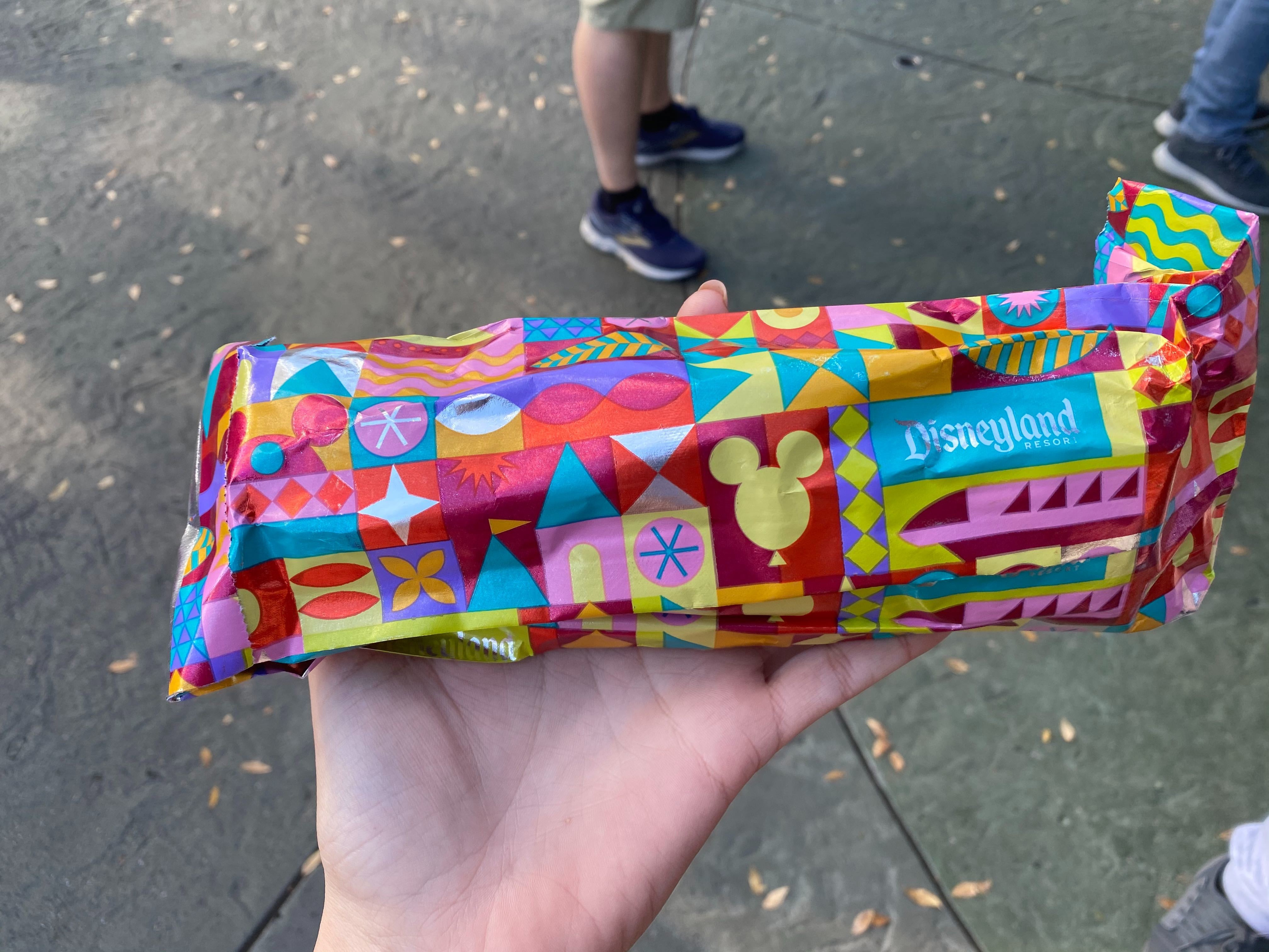 Colorful New Food Wrapping Bring a Pop of Color to Disneyland Snacks