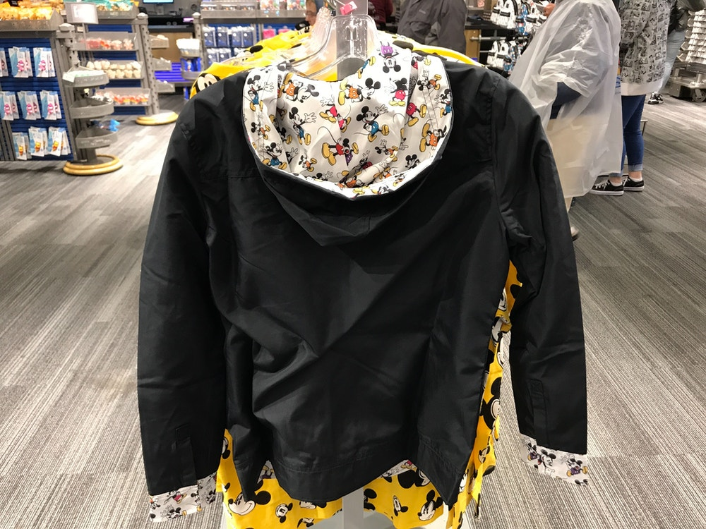 mickey adult coat