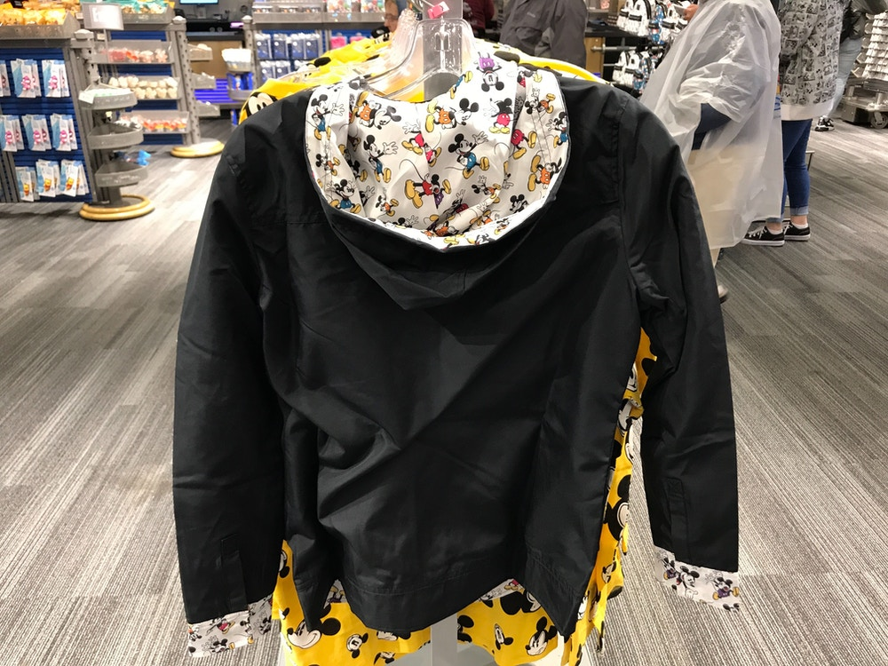 mickey adult coat