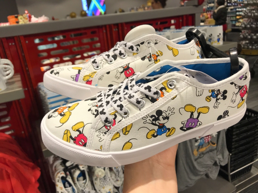 mickey adult shoes