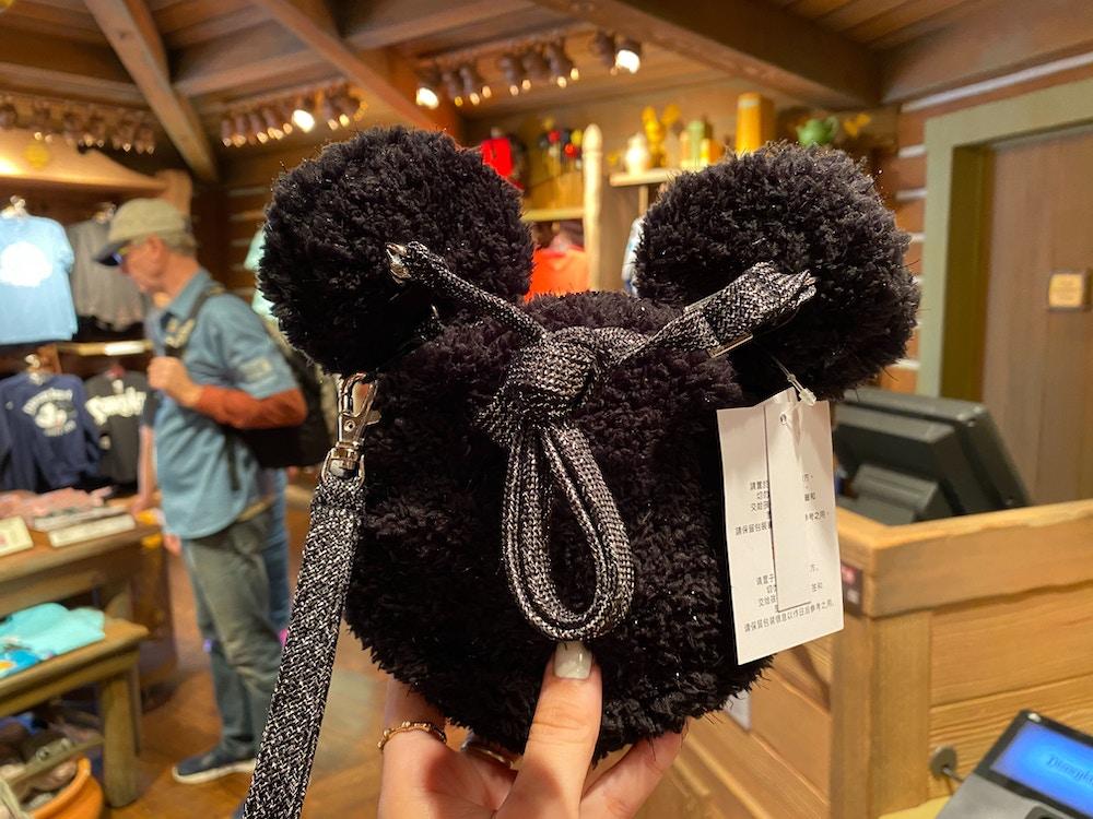 mickey mouse wristlet