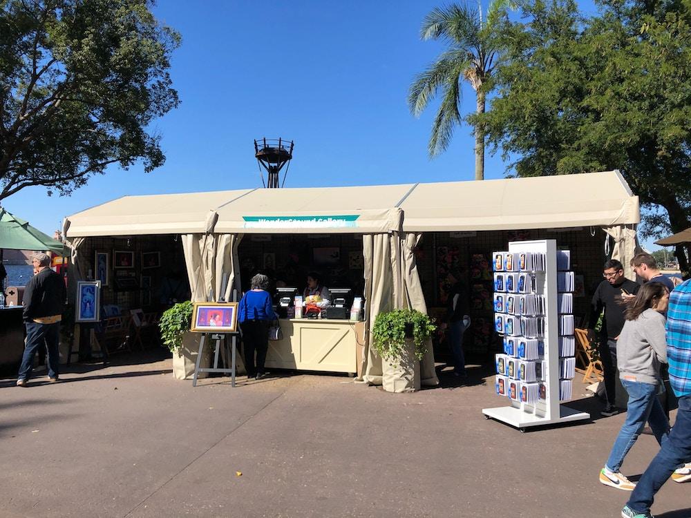 festival of the arts wonderground tent