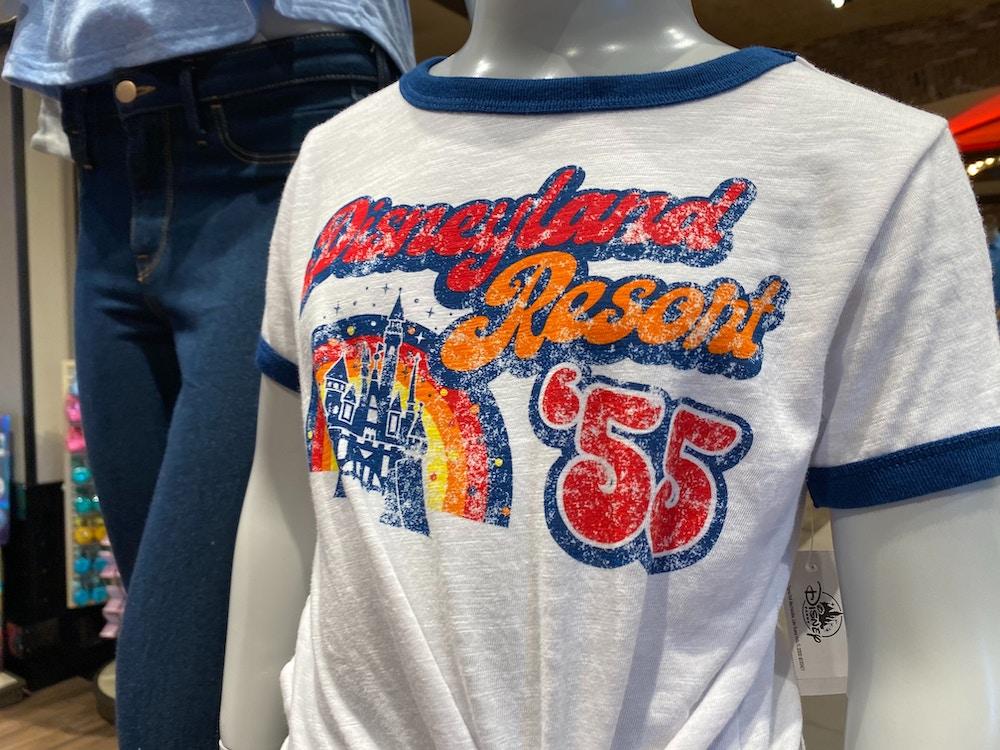 disneyland resort 55 t-shirt