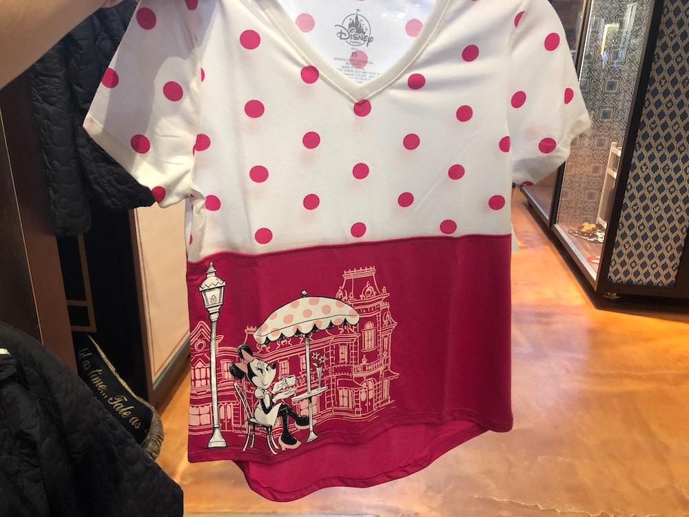 Rock The Dots Women's Main Street USA Minnie T-Shirt