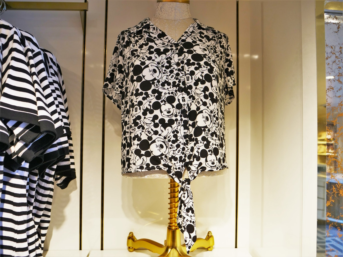 Mickey Print Shirt