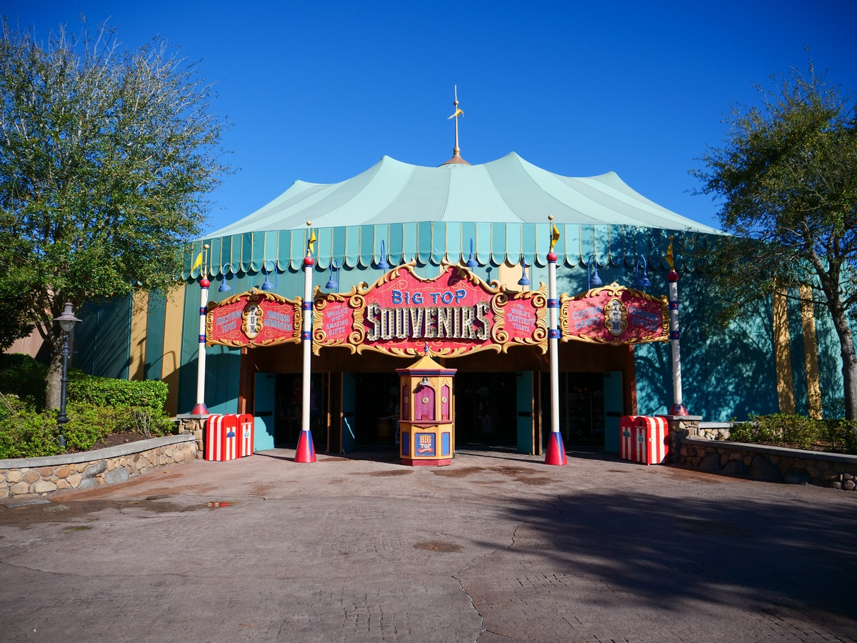 Big Top Souvenirs Reopens