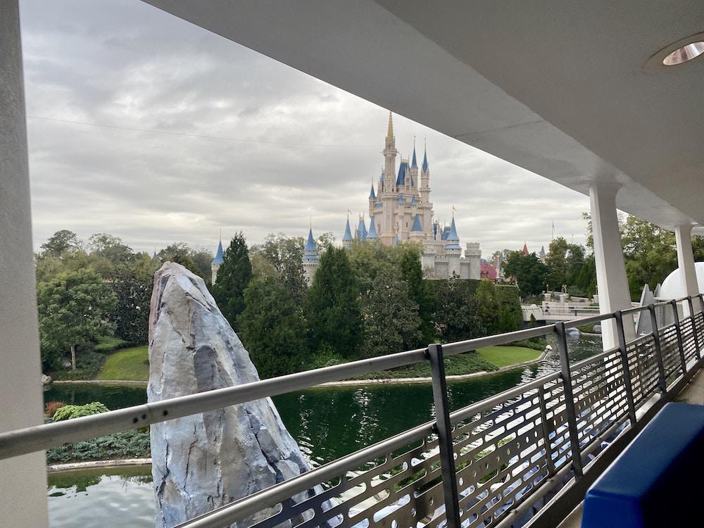 Cinderella Castle peoplemover