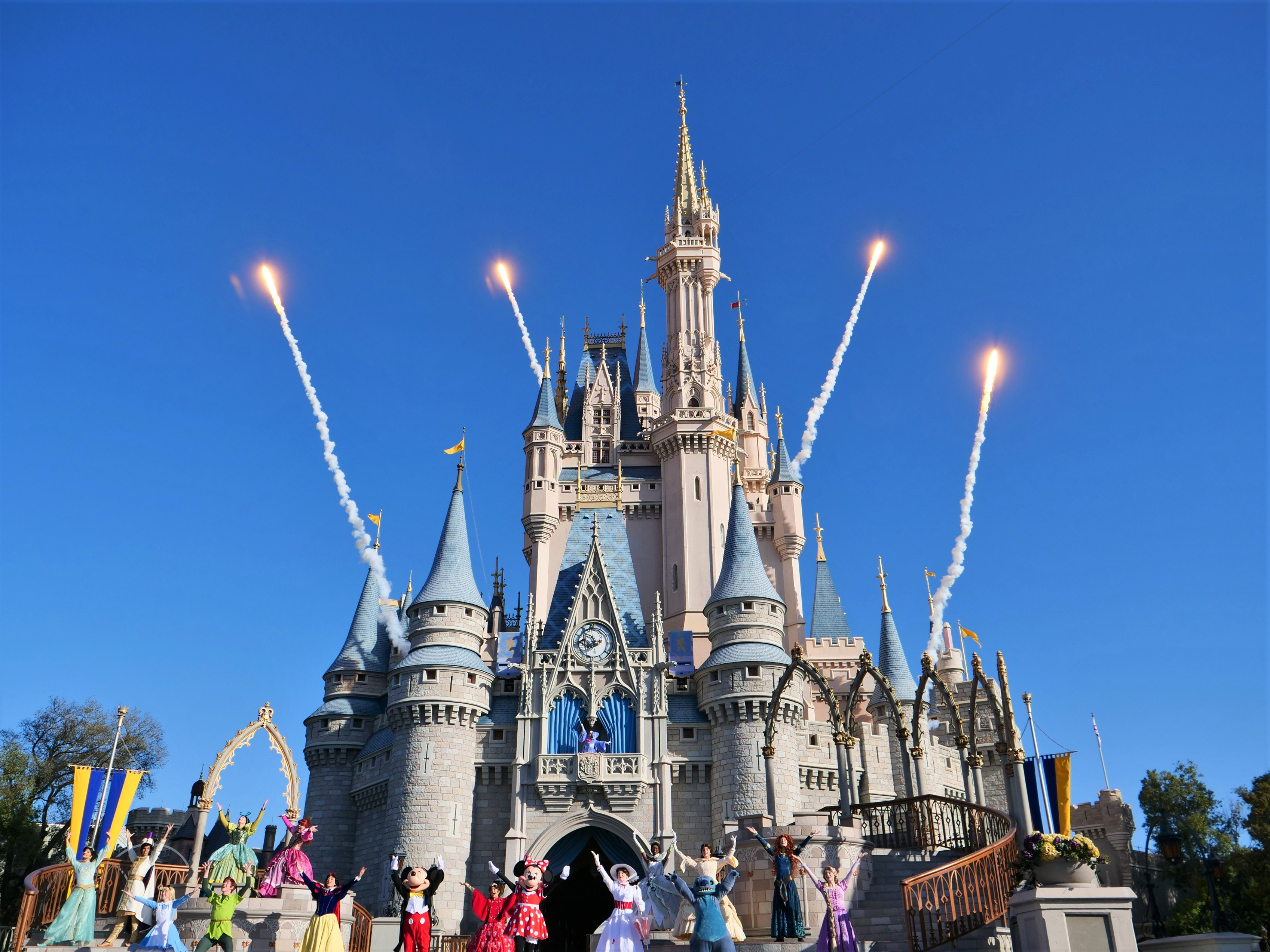 Cinderella Castle at Opening