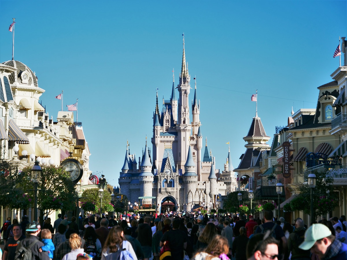 Cinderella Castle from Main Street