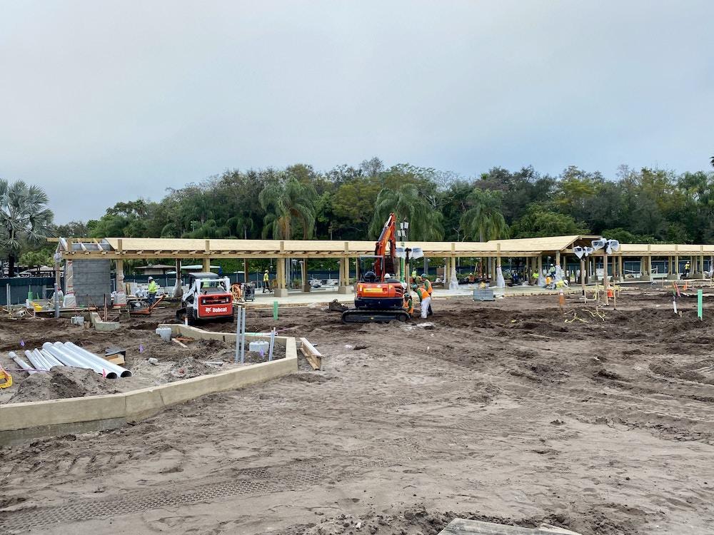 DAK security structure construction
