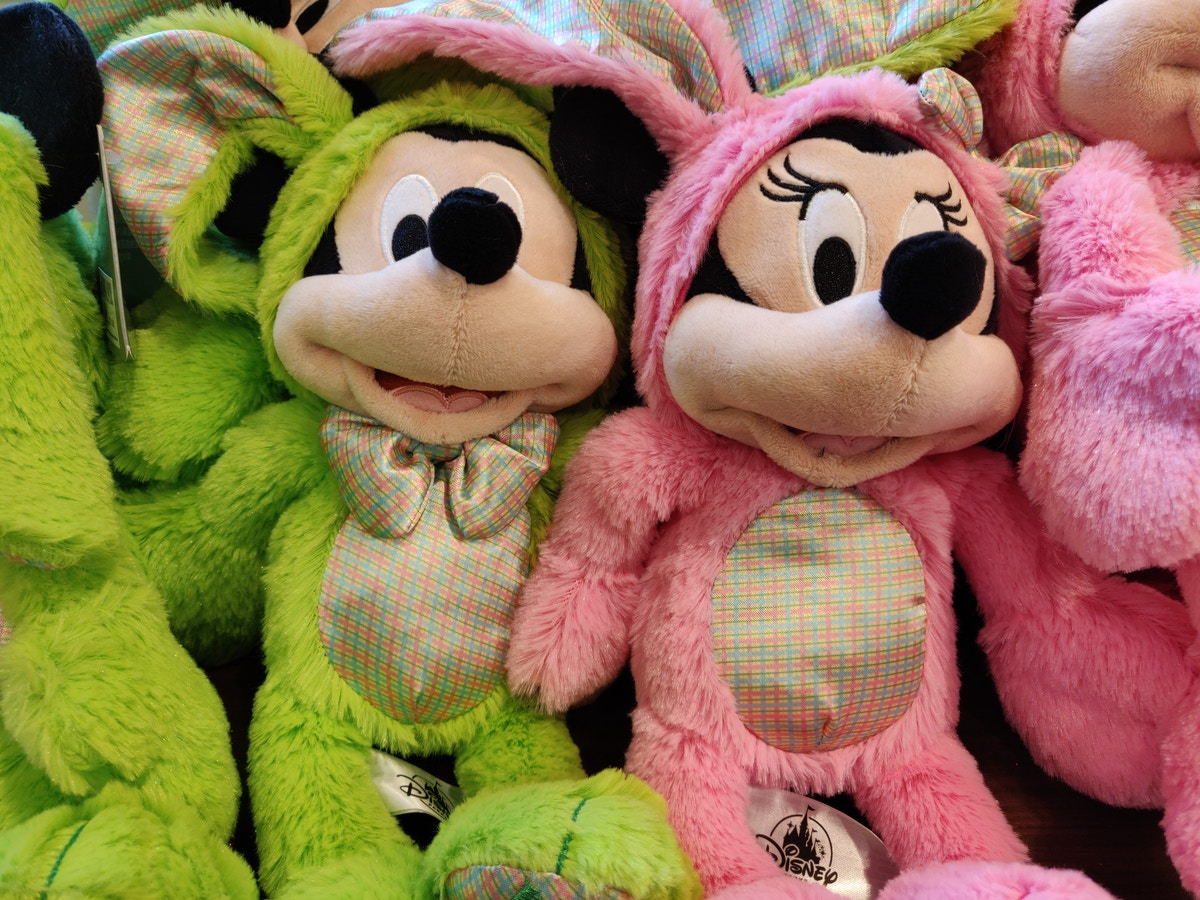 Easter Mickey and Minnie