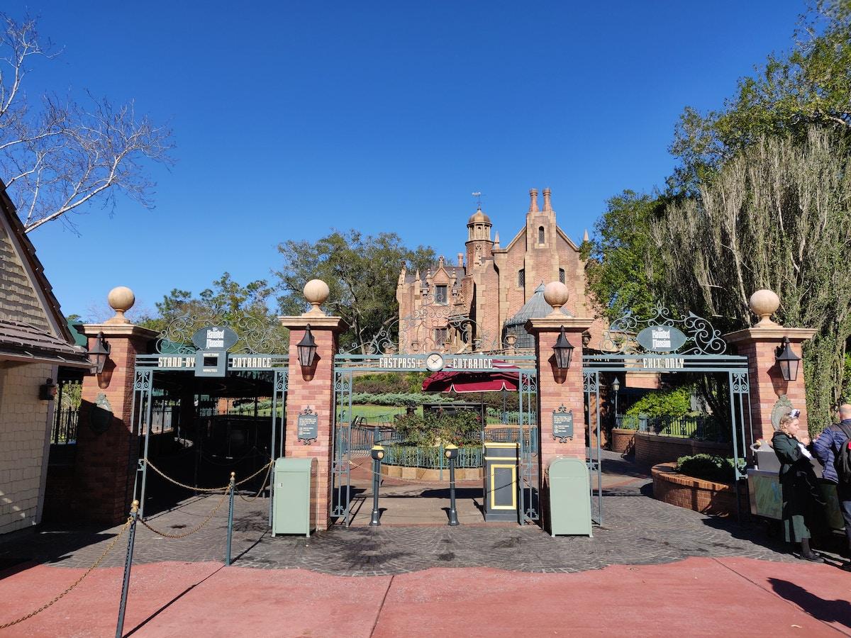 Haunted Mansion Temporarily Closed