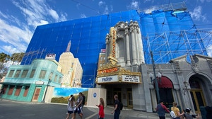 Hollywood Land Sky Backdrop Repainting