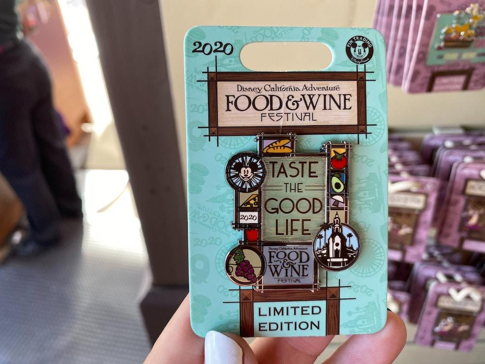 "Taste the Good Life"" Pin"