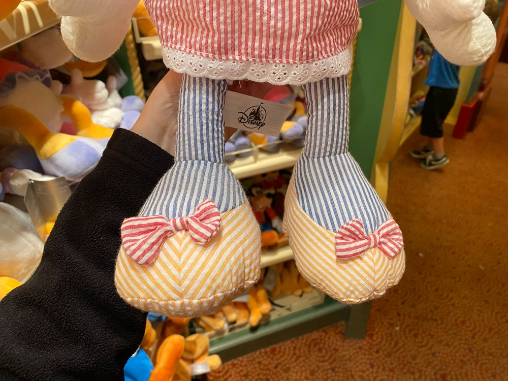Minnie Pinstripe Plush