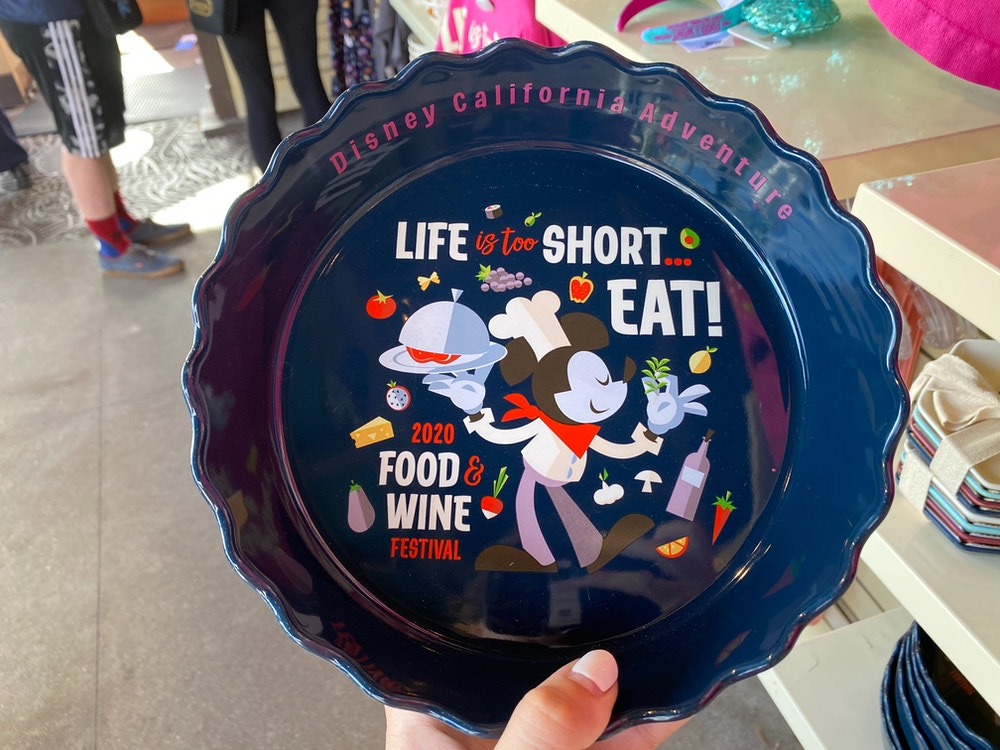 Food and Wine Festival Pie Dish
