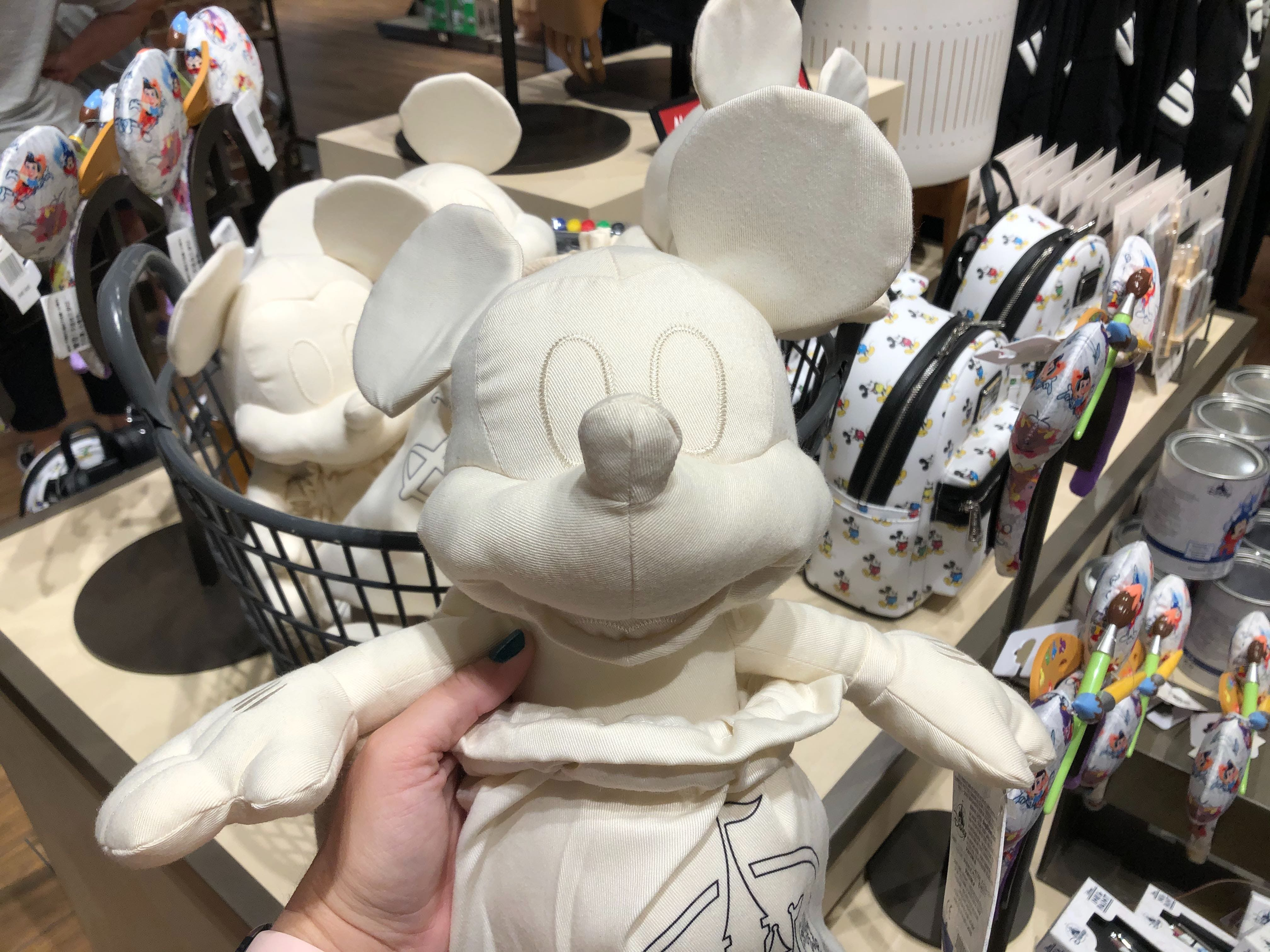 Details about  /NEW INK AND PAINT DISNEY PARK WAVE 2  MICKEY PLUSH MYSTERY REVEALED —HOT PINK