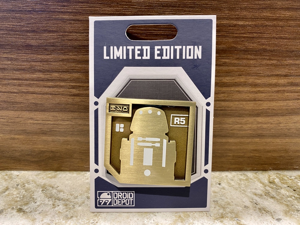 Limited edition pin February